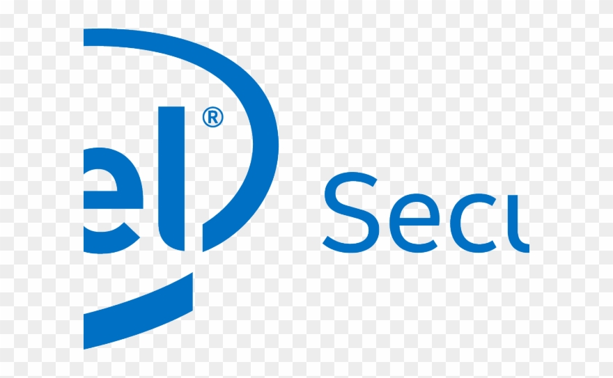 Intel Clipart Eps - Intel Security Png Transparent Png (#1170303