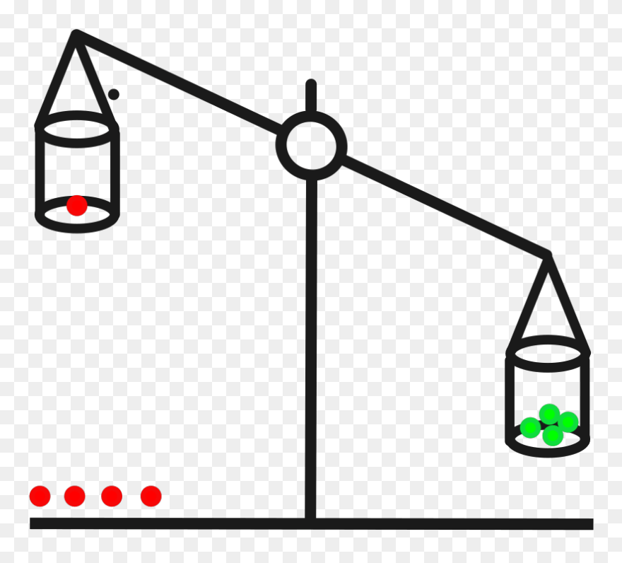 Scale Clipart Animated - Animated Scales Of Justice - Png Download