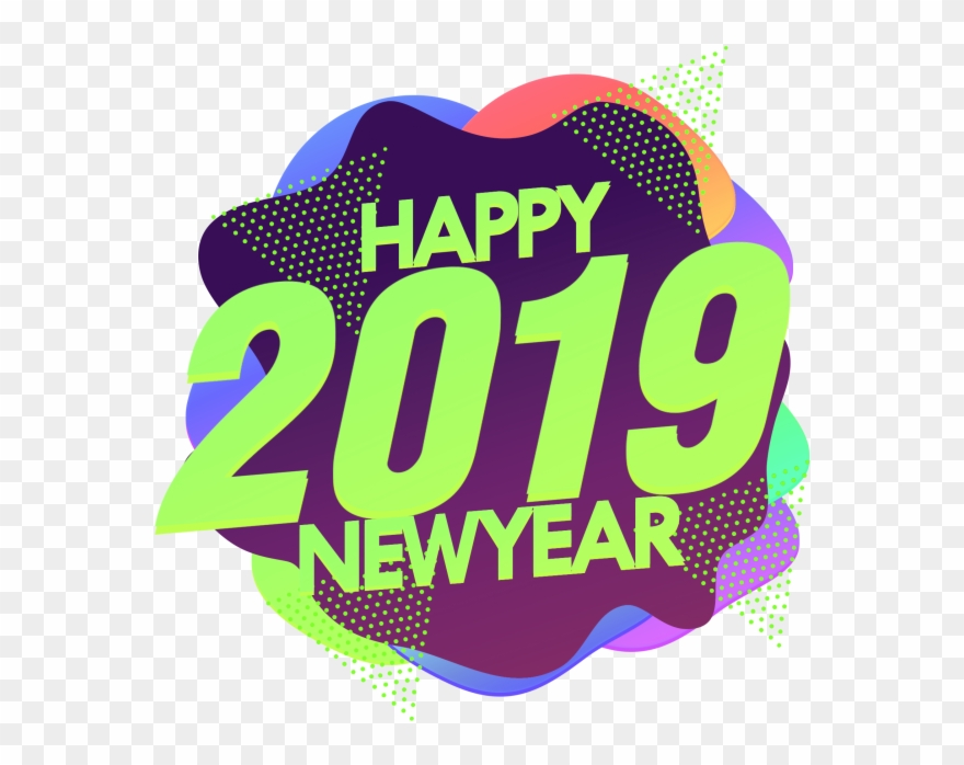 Happy 2019 New Year Png Image - Happy New Year 2019 Png Clipart