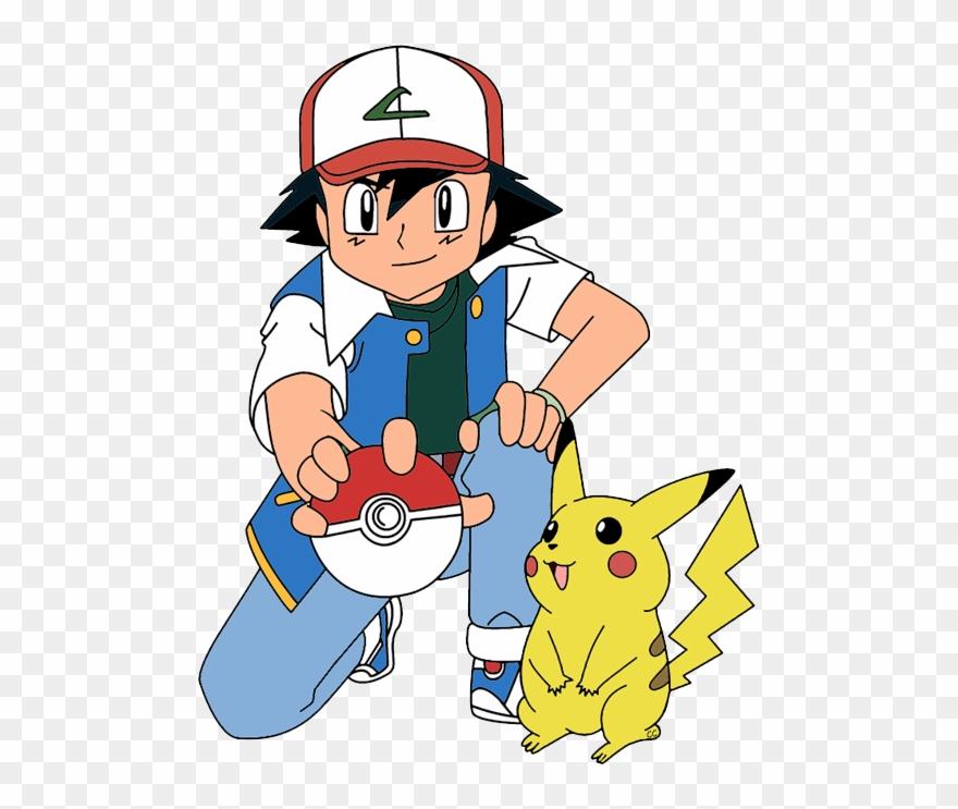Clipart Ash Drawing Cartoon - Free Printable Pokemon Thank You Tags