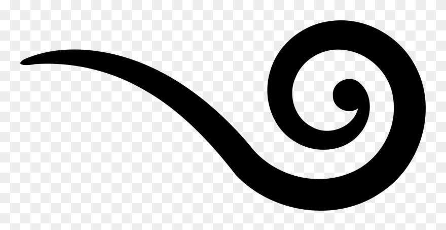 Swirls Simple Swirl Clipart Kid - Graphic Design - Png Download