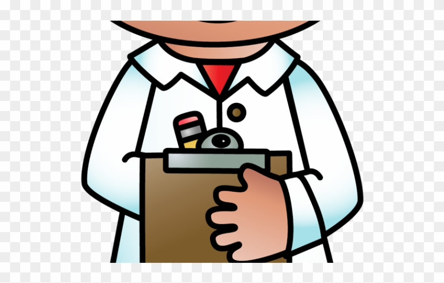 Scientist Clipart Recording - Taking Notes Clip Art - Png Download