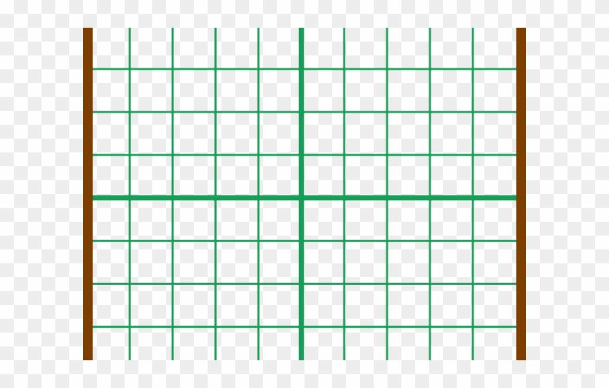 Graph Paper Clipart - Graph Two Lines Whose Solution Is 1 4 - Png