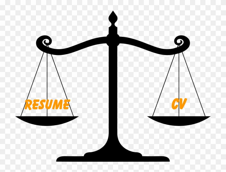 Difference Between Resume And Cv Clipart (#2519035) - PinClipart