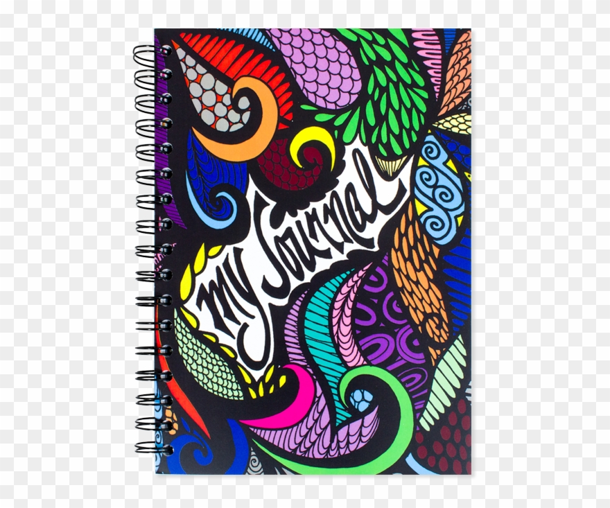 Drawn Notebook Lyric - Front Cover Journal Designs Clipart (#3236228