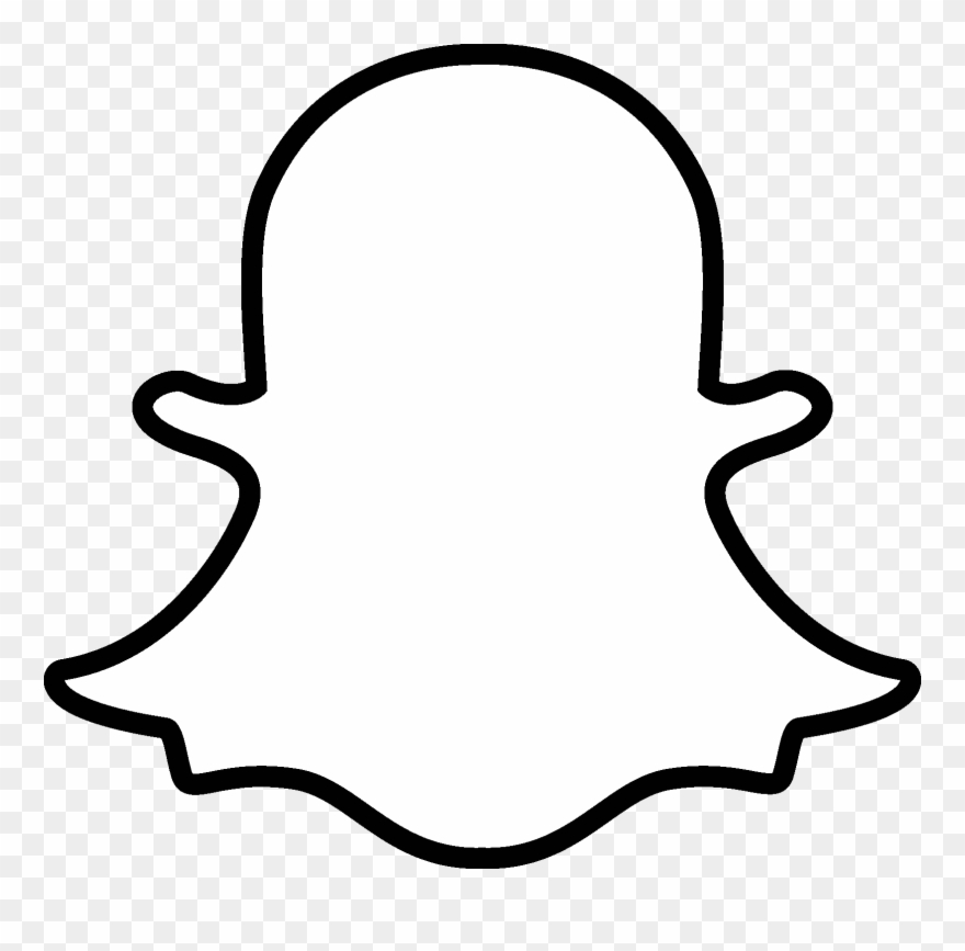 Snapchat App, Online Messaging Apps - Snapchat White Icon Png