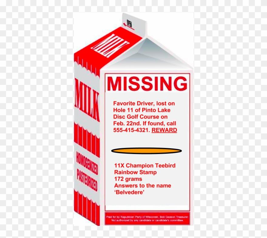 960 X 720 7 - Missing Milk Carton Template Clipart (#3413098