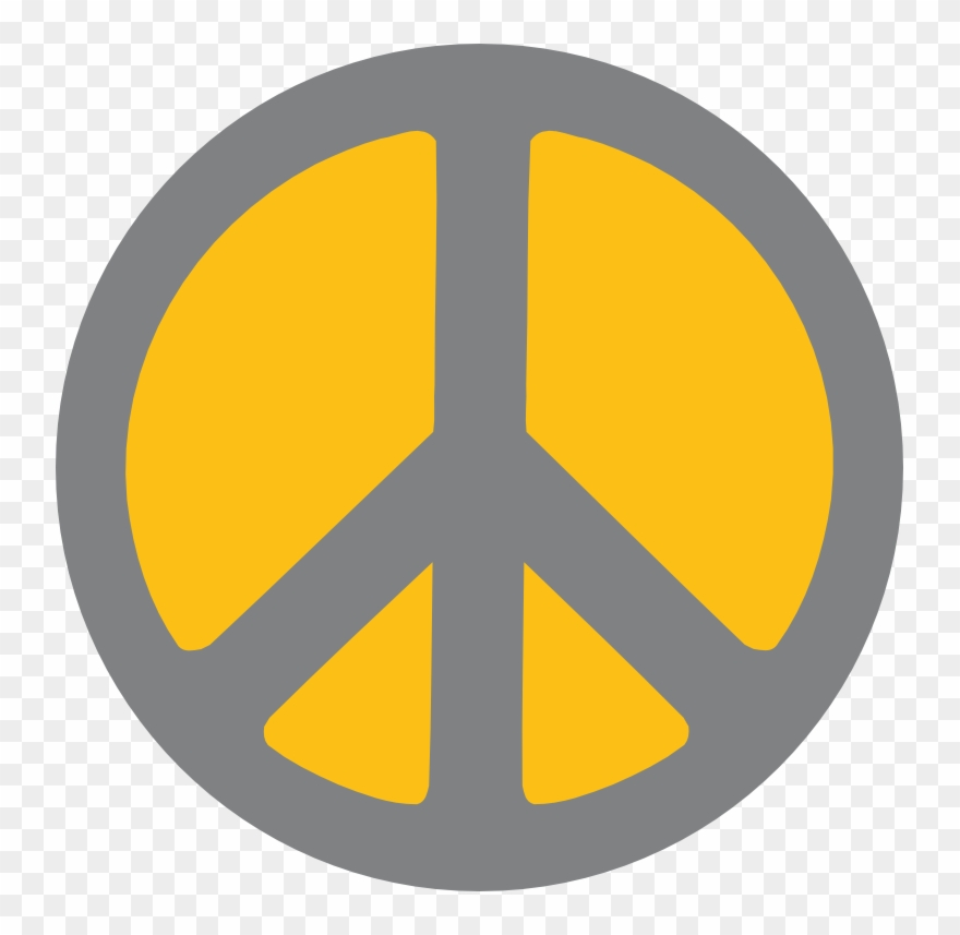 Scalable Vector Graphics Two Color Peace Sign Scallywag - Two Color
