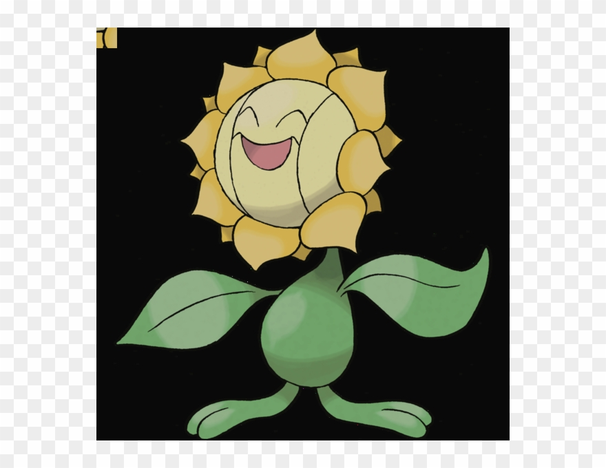 Clip Art Pokemon Go How To Evolve Sunkern Into Sunflora - Plant