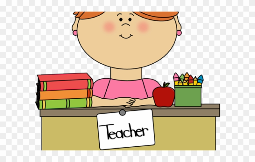 Happy Teacher Clip Art - Png Download (#501449) - PinClipart