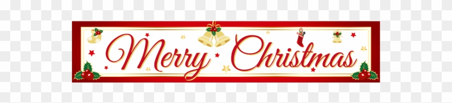 Merry Christmas Png Merry Christmas Banner Png Zaxa - One Last