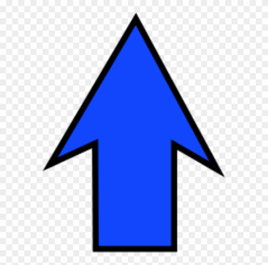 Free Clipart Arrow Pointing Up - Arrow Pointing Up Clip Art - Png