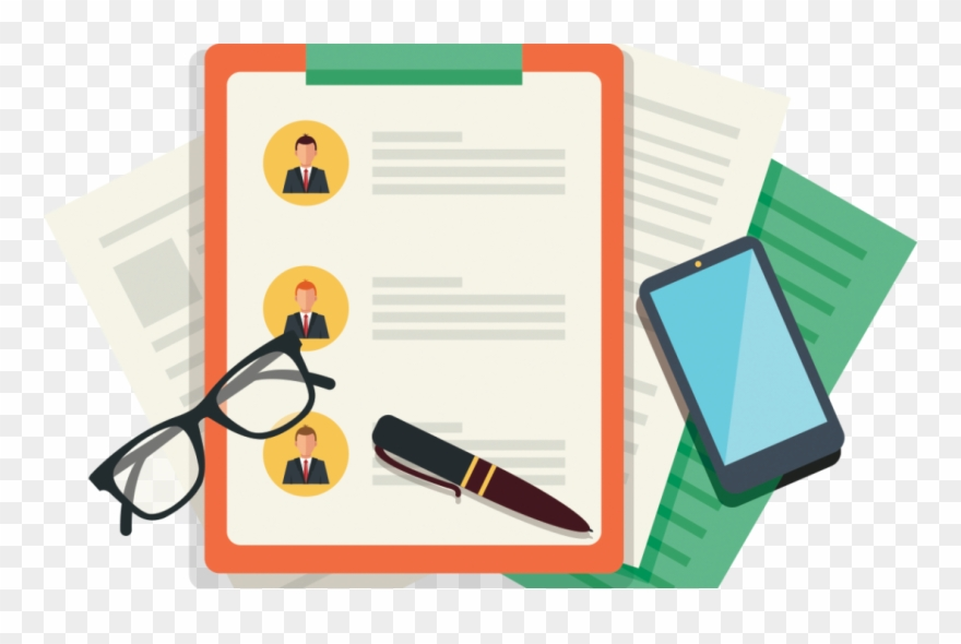 Writing Resume - 1 - - Resume Builder Clip Art - Png Download