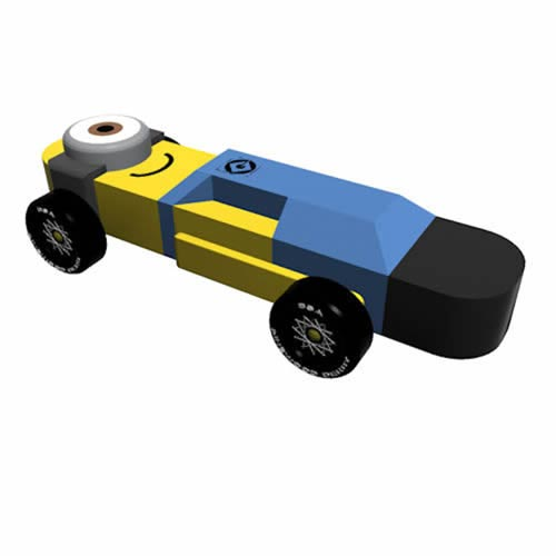 Pinewood Derby Car Design Plan - Minion