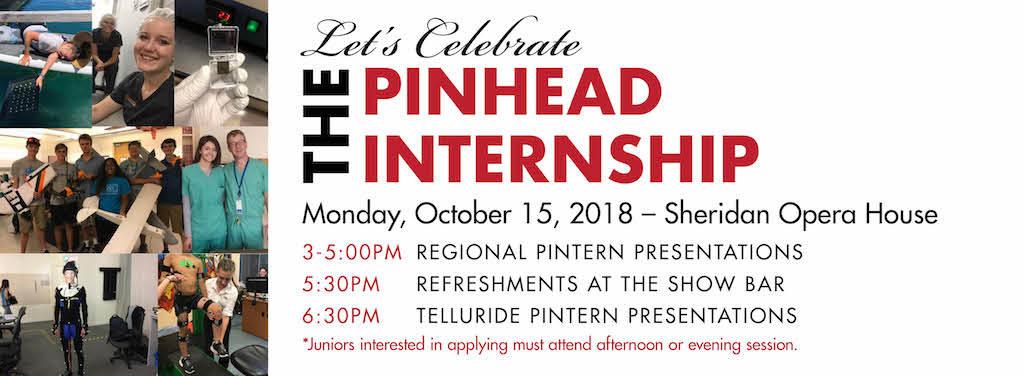 Internship Presentation Night Pinhead Institute