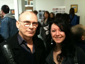 Paul Loasby (David Gilmour's Manager & Pink Floyd Co-Manager) with Natalie Thake (From AFG)