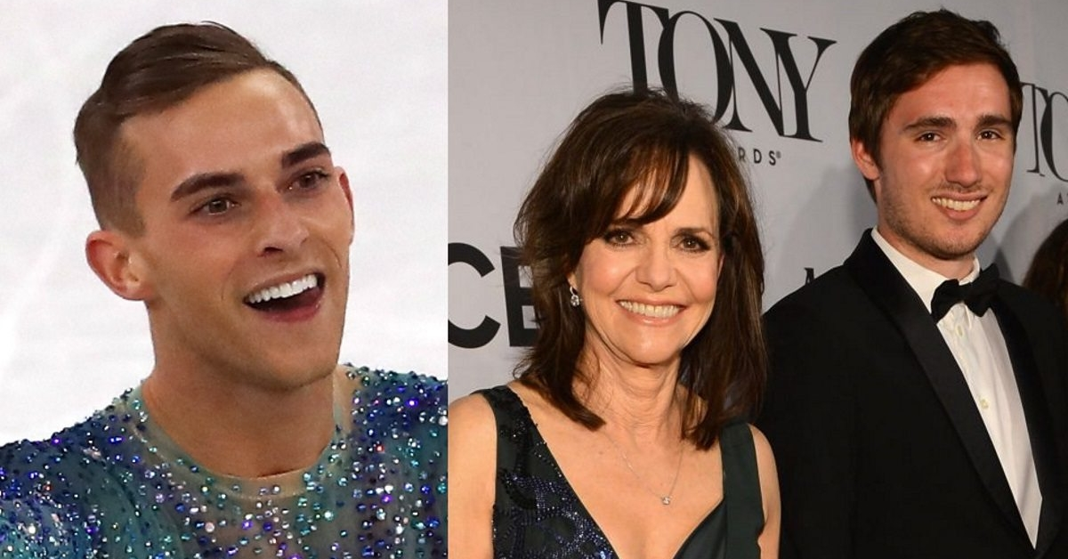 Adam Rippon responds to Sally Field\u0027s attempt to set him up with her son - jason rippon