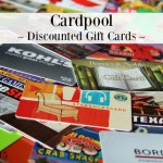 Cardpool ~ Discounted Gift Cards PLUS Giveaway #Crdpool15