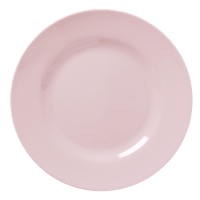 Soft Pink Melamine Dinner Plate - By RICE.DK - Pinks & Green
