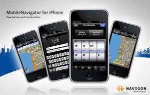 13 nuove funzioni per Navigon MobileNavigator per iPhone