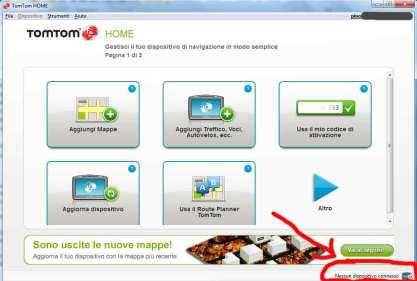 Incredibile ma vero. TomTom Home non riconosce TomTom per iPhone