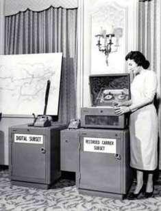Apparati delle vecchie centrali telefoniche