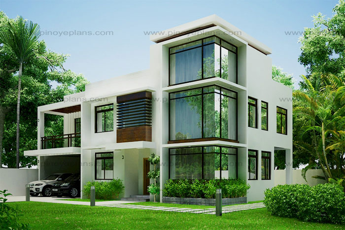 Modern house design 2012002 pinoy eplans modern house for Home designs com