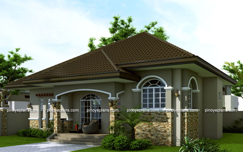 Small house design shd 2014007 pinoy eplans modern for Pinoy house design
