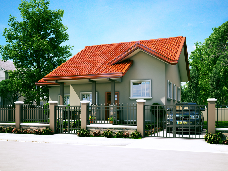 Small House Designs Series Shd 2014006v2 Pinoy Eplans
