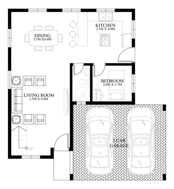 Modern House Design Series Mhd 2014012 Pinoy Eplans
