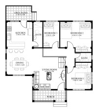Small House Designs Series : SHD-2014006V2 | Pinoy ePlans