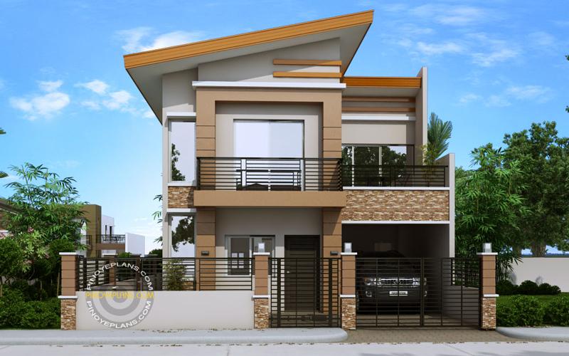 Modern house plan dexter pinoy eplans
