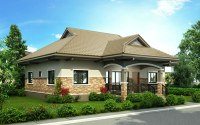 3-Bedroom Bungalow House Concept | Pinoy ePlans