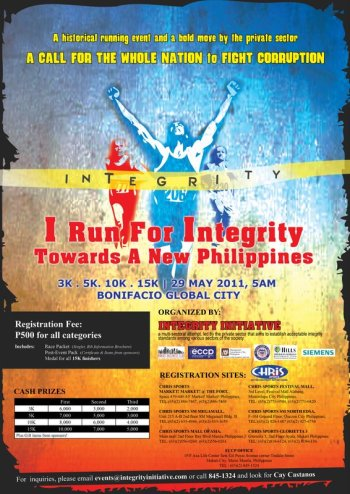 i run for integrity 2011 maps