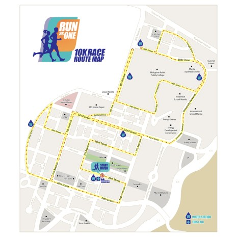 Run As One Race Route 10K
