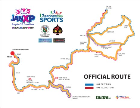 OFFICIAL ROUTE JANXP 2011