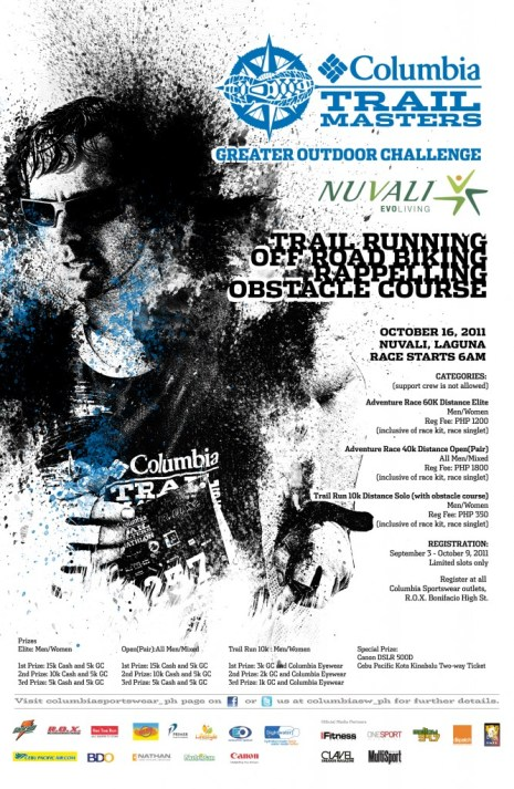 Columbia Adventure Race_Poster-2011