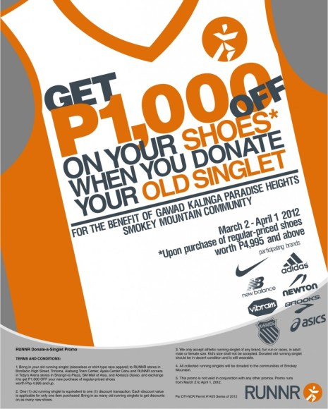 RUNNR Singlet Promo 2012