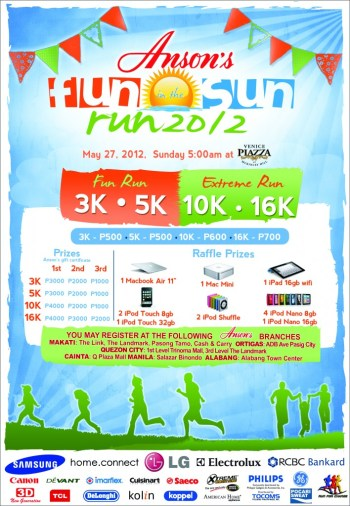 Anson's Fun in the Sun Run 2012 race results and photos