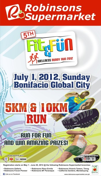 Robinsons Supermarket 5th Fit & Fun Wellness Buddy Run race results and photos