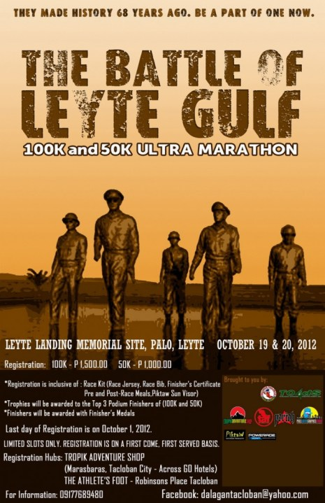 battle-of-leyte-gulf-ultra-marathon-2012-poster