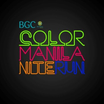 color manila nite run bgc 2013