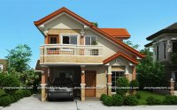 PHP-2015021, Two Storey House Plan with Balcony - Pinoy ...