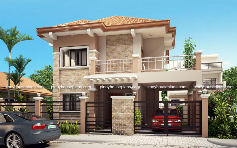 Php 2015023 Four Bedroom Two Storey Contemporary