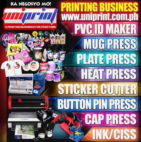 Uniprint - A Printing Business for Everyone Quezon City - Pinoy