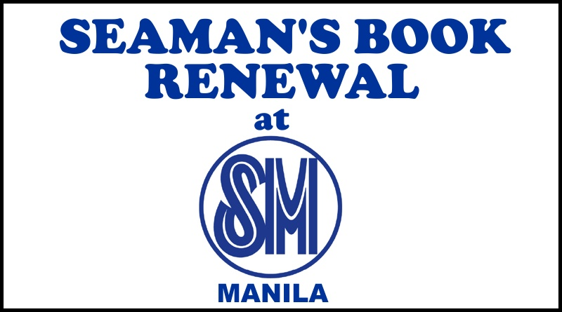 Seaman's Book Renewal At SM Manila
