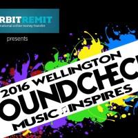 2016 Wellington Soundcheck: Music Inspires