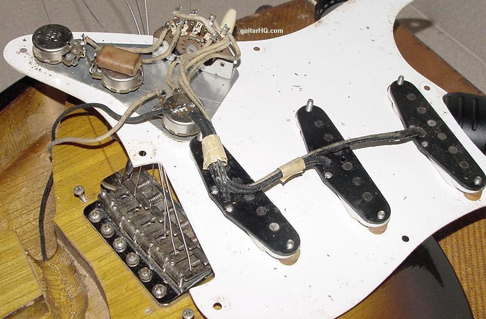 1956 Fender Stratocaster guitar 56 Fender Strat guitar collector