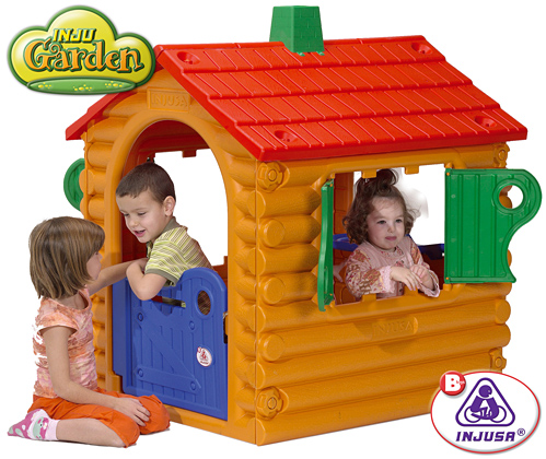 Las 10 mejores casitas de juguete pintando una mam for Casita plastico jardin