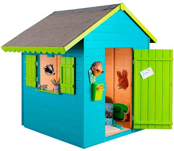 Casas de madera para ni os pintando una mam pintando for Casitas de madera para ninos precios